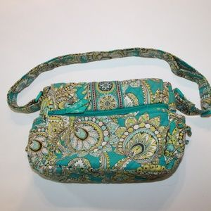Vera Bradley Blue & Yellow Bag